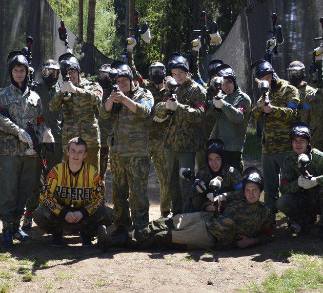 Пейнтбол в Литвиново